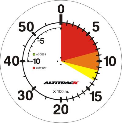 LB Altitrack ciferník 0 - 6 km