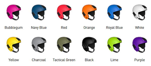Prilba Fuel - farby