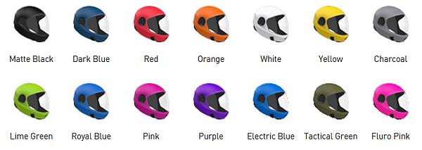 Prilba G3 - farby
