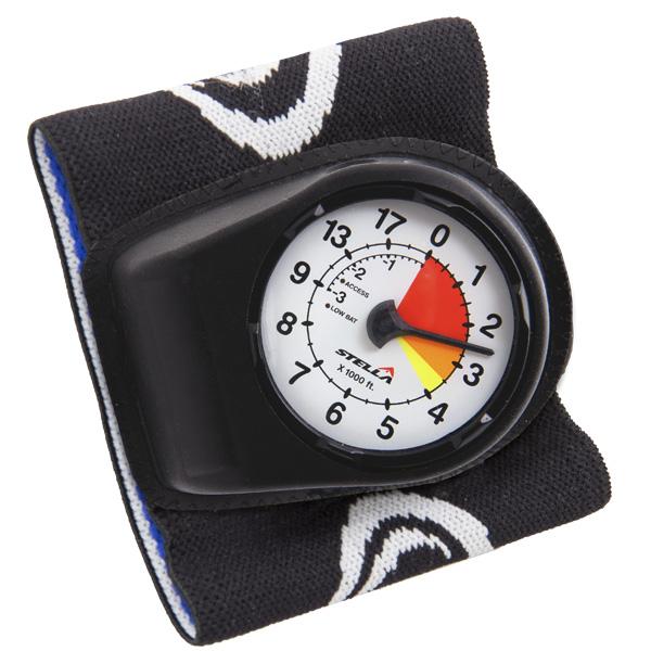 Výškomer STELLA - uchytenie na zápästie