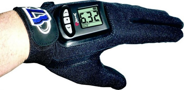 VISO II rukavice čierne